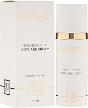 Духи, Парфюмерия, косметика Антивозрастной крем для лица - BioDermic Pearl Glow Anti-Age Cream