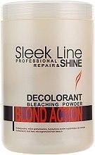 Духи, Парфюмерия, косметика Осветляющая пудра для волос - Stapiz Sleek Line Repair & Shine Blond Action