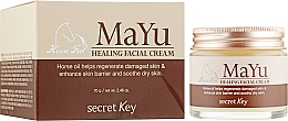 Духи, Парфюмерия, косметика Крем восстанавливающий с конским жиром - Secret Key MAYU Healing Facial Cream