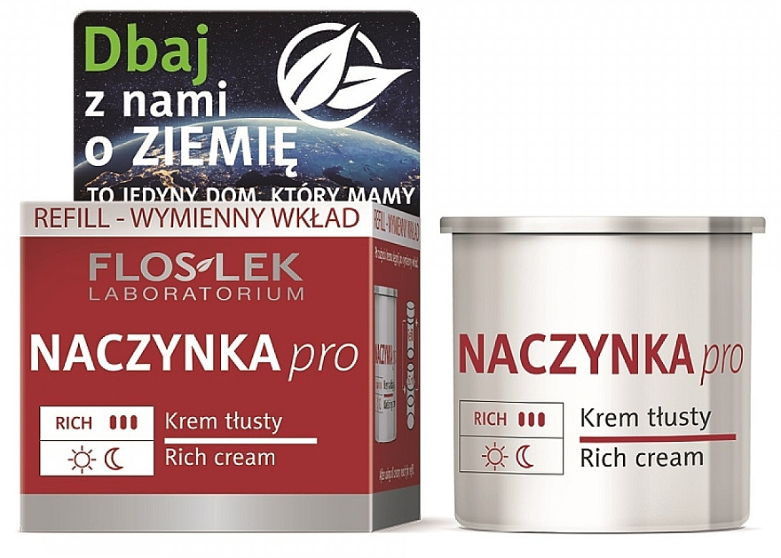 Крем для лица - Floslek Dilated Capillaries Rich Cream Refill (сменный блок) — фото N1