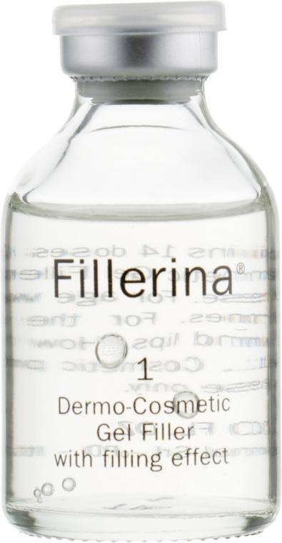 Дермато-косметическая система, уровень 1 - Fillerina Dermo-Cosmetic Filler Treatment Grade 1 (gel/30ml + cr/30ml + applicator/2szt) — фото N6