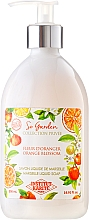 "Духи, Парфюмерия, косметика Жидкое мыло ""Апельсиновый цвет"" - Institut Karite So Garden Collection Privee Orange Blossom Marseille Liquid Soap"