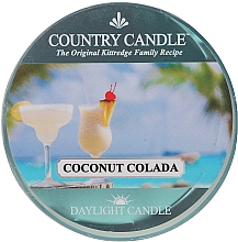 Духи, Парфюмерия, косметика Чайная свеча - Country Candle Coconut Colada