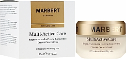 Духи, Парфюмерия, косметика Восстанавливающий крем-концентрат - Marbert Anti-Aging Care MultiActive Care Regenerating Cream Concentrate