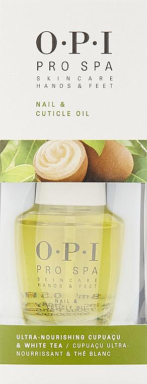 Масло для ногтей и кутикулы - O.P.I. ProSpa Nail & Cuticle Oil — фото N1