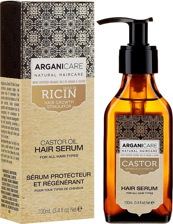 Сыворотка для роста волос - Arganicare Castor Oil Hair Serum — фото N1