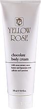 Духи, Парфюмерия, косметика Шоколадный тонизирующий массажный крем для тела - Yellow Rose Chocolate Body Cream