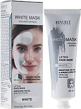 Духи, Парфюмерия, косметика Маска для лица - Revuele White Mask Lifting Face Mask