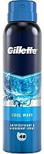 Духи, Парфюмерия, косметика Дезодорант-антиперспирант аэрозольный - Gillette Cool Wave Antiperpirant Spray
