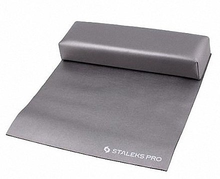 "Подлокотник ""макси"" с ковриком, серый - Staleks Pro Expert 11 Type 2 — фото N1"
