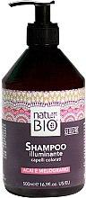 Духи, Парфюмерия, косметика Шампунь для волос - Renee Blanche Natur Green Bio Illuminante Shampoo