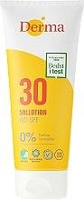 Духи, Парфюмерия, косметика Лосьон для загара солнцезащитный - Derma Sun Lotion SPF30