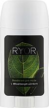 Духи, Парфюмерия, косметика Дезодорант для мужчин с 48-часовым эффектом - Ryor Deodorant