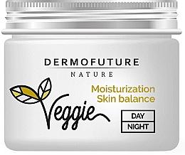 Крем для жирной и комбинированной кожи - DermoFuture Ginger & Cucumber Cream — фото N2
