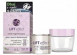 Духи, Парфюмерия, косметика Восстанавливающий крем для лица - Floslek Lift Effect Regenerating Cream (баночка + сменный блок)