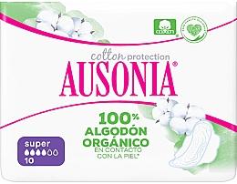 Духи, Парфюмерия, косметика Гигиенические прокладки, 10 шт - Ausonia Cotton Protection