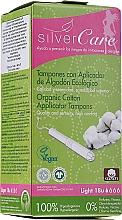 Духи, Парфюмерия, косметика Тампоны из органического хлопка, 18шт - Masmi Silver Care Light