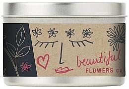 Духи, Парфюмерия, косметика Ароматическая свеча - Bath House Scented Candle Wild Flower