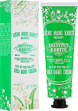 Духи, Парфюмерия, косметика Крем для рук - Institut Karite So Chic Hand Cream Lily Of The Valley