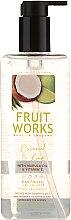 "Духи, Парфюмерия, косметика Мыло для рук ""Кокос и лайм"" - Grace Cole Fruit Works Coconut & Lime Hand Wash"