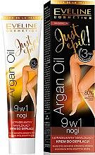 Духи, Парфюмерия, косметика Депиляторный крем 9в1 - Eveline Cosmetics Argan Oil