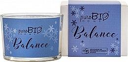 Духи, Парфюмерия, косметика Органическая свеча - PuroBio Home Organic Balance