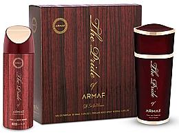 Духи, Парфюмерия, косметика Armaf The Pride of Armaf - Набор (edp 100 ml + deo/spray 200 ml)