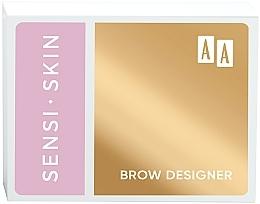 Духи, Парфюмерия, косметика Набор для моделирования бровей - AA Sensi Skin Brow Designer