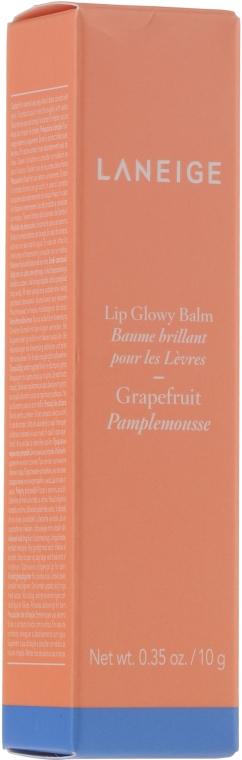 """Оттеночный блеск-бальзам для губ """"Грейпфрут"""" - Laneige Lip Glowy Balm Grapefruit — фото N1"""