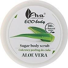 "Духи, Парфюмерия, косметика Скраб для тела ""Алоэ вера"" - Ava Laboratorium Eco Body Natural Sugar Scrub Aloe Vera"