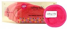 Духи, Парфюмерия, косметика Мини-полотенце для снятия макияжа, розовое - Rolling Hills Mini Makeup Remover Pink