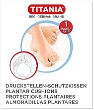 Духи, Парфюмерия, косметика Защитная накладка для ступней против давления, 1 пара - Titania Plantar Cushions