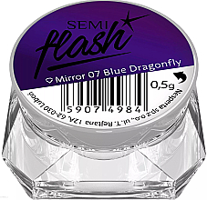 Духи, Парфюмерия, косметика Втирка для ногтей - Semilac SemiFlash Mirror