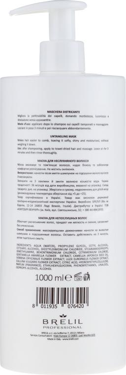 Маска для непослушных волос - Brelil Bio Treatment Soft Untangling Mask — фото N4