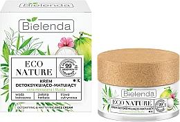 Духи, Парфюмерия, косметика Крем для лица - Bielenda Eco Nature Coconut Water Green Tea & Lemongrass Face Cream