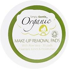 Духи, Парфюмерия, косметика Очищающие салфетки для лица - Simply Gentle Organic Fairtrade Cotton Facial Cleansing Pads