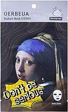 Духи, Парфюмерия, косметика 2-Ступенчатая система ухода за лицом - Oerbeua Don't Be So Serious Mask Sheet