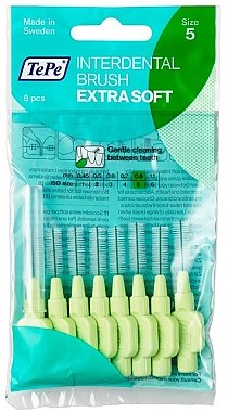 Межзубный ершик - TePe Interdental Brush Extra Soft 0.8mm — фото N1