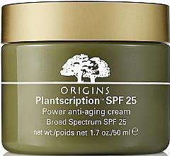 Духи, Парфюмерия, косметика Антивозрастной крем для лица - Origins Plantscription SPF25 Power Anti-Aging Cream