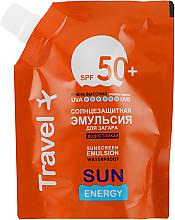 Духи, Парфюмерия, косметика Водостойкая солнцезащитная эмульсия для загара SPF 50+ - Sun Energy Waterproof Sunscreen Emulsion SPF 50+ (дой-пак)