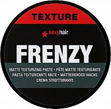 Духи, Парфюмерия, косметика Крем текстурный для объёма волос - SexyHair StyleSexyHair Frenzy Flexible Texturizing Paste