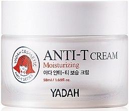 Духи, Парфюмерия, косметика Увлажняющий крем для жирной и проблемной кожи - Yadah Anti-T Moisturizing Cream