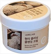Духи, Парфюмерия, косметика Очищающий крем с бурым рисом - Lebelage Brown Rice Cleaning Cleansing Cream