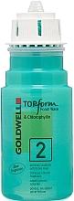 Духи, Парфюмерия, косметика Химическая завивка для пористых или окрашенных волос - Goldwell Topform Foam Wave 2