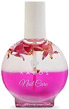Духи, Парфюмерия, косметика Масло для ногтей и кутикулы - Kabos Nail Oil Pink Flowers