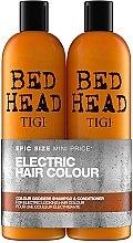 Духи, Парфюмерия, косметика Набор - Tigi Bed Head Colour Goddess (sh/750ml + cond/750ml)