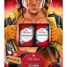 Духи, Парфюмерия, косметика Набор - Old Spice WhiteWater Fireman (deo/50g + sh/gel/250ml)