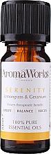 Духи, Парфюмерия, косметика Смесь эфирных масел - AromaWorks Serenity Essential Oil