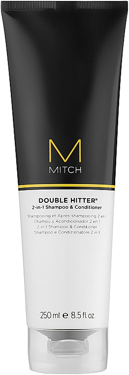 Шампунь и кондиционер 2 в 1 - Paul Mitchell Mitch Double Hitter 2 in 1 Shampoo & Conditioner  — фото N1