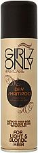 Духи, Парфюмерия, косметика Сухой шампунь для светлых волос - Girlz Hair Care Only Dry Shampoo Blonde Hair